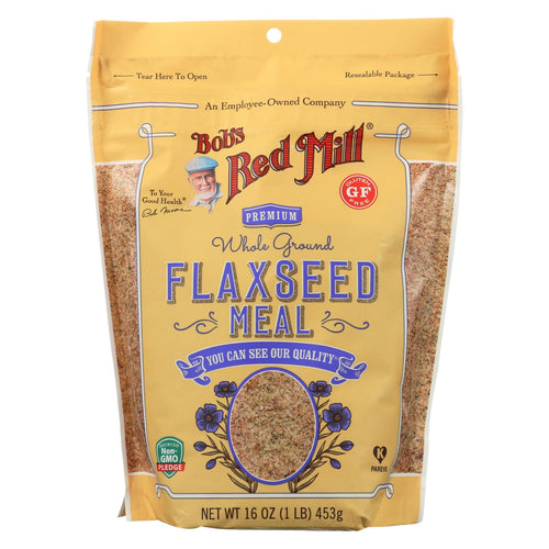 Bob's Red Mill - Flaxseed Meal - Gluten Free - Case Of 4 - 16 Oz