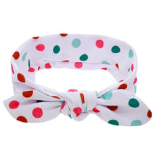 Load image into Gallery viewer, EE BABY Lovely Bowknot Elastic Head Bands For Baby Girls Headband For Children Tuban Baby Baby Accessories Floral Hair haarband