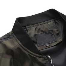 Load image into Gallery viewer, Barracks Camouflage Bomber Jacket