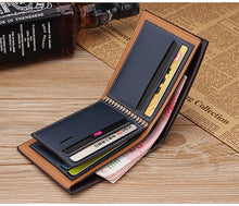 Load image into Gallery viewer, Men's Luxury Italian Leather Wallet