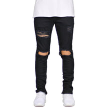 Load image into Gallery viewer, Men's Ripped Destroyed Stretch Skinny Jeans