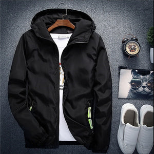 Easy Hooded Windbreaker Jacket