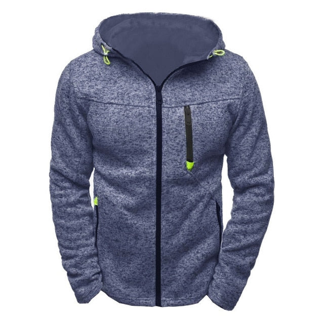 Laid Casual Fleece Jacket