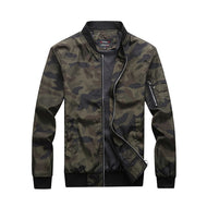 Barracks Camouflage Bomber Jacket