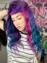 Load image into Gallery viewer, Purple Posey Custom Colored Wig - Raffle