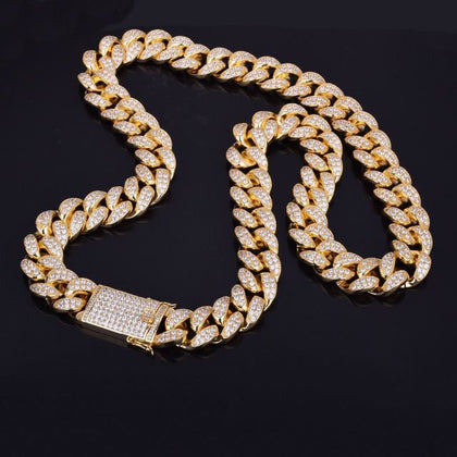 Diamond Cuban Link Necklace (20mm)