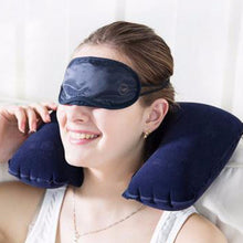 Load image into Gallery viewer, Inflatable Travel Neck Pillow