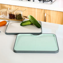 Load image into Gallery viewer, Rice Fiber Cutting Board With Garlic Grinding Tool