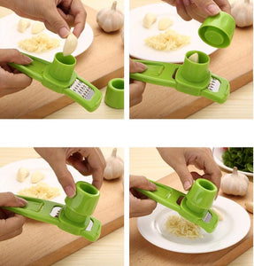 Multi-Functional Garlic Press