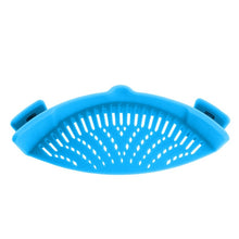 Load image into Gallery viewer, Silicone Pot & Pan Snap-On Strainer