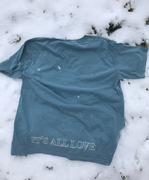 'Project' Ice Blue Tee