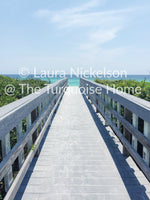 Digital Photo Download of Walkway to Turquoise Beach on Highway 30A