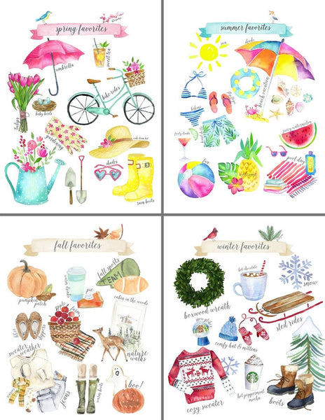 Favorite Things Printable Collection