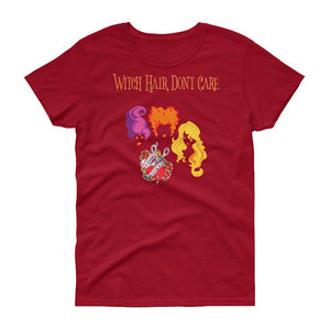 Twisted Scissors - Witch Hair Don't Care - Women's short sleeve t-shirt