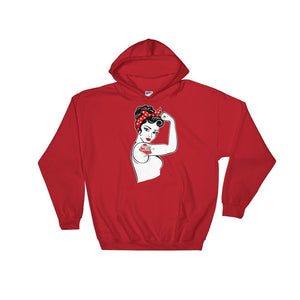 Twisted Scissors - Girl Power - Hooded Sweatshirt