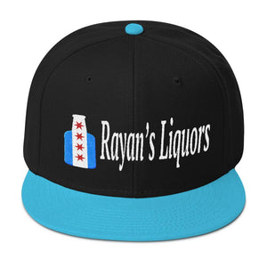 Rayan's Liquors - Chicago Beer Bottle - Snapback Hat