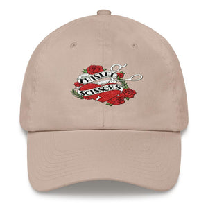 Twisted Scissors - Logo - Dad hat