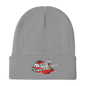 Twisted Scissors - Logo - Knit Beanie
