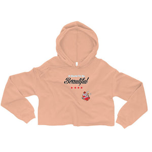 Twisted Scissors - It Hurts To Be Beautiful - Crop Hoodie