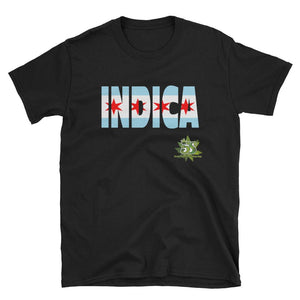 South Side Smoke Shop - Indica Flag - Short-Sleeve Unisex T-Shirt