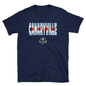 Ballpark Pub - Canaryville Flag - Short-Sleeve Unisex T-Shirt