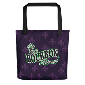 Bourbon Street Staff - Logo Purple - Tote bag