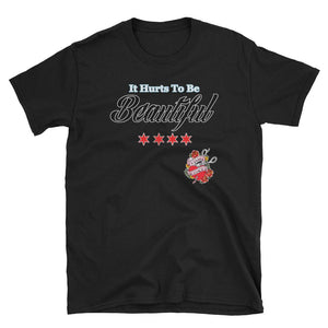 Twisted Scissors - It Hurts To Be Beautiful - Short-Sleeve Unisex T-Shirt