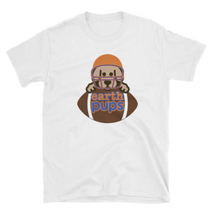 Earth Pups - Football - Short-Sleeve Unisex T-Shirt