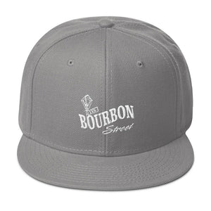 115 Bourbon Street - Logo - Embroidered Snapback Hat
