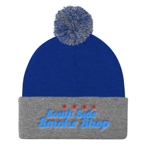 South Side Smoke Shop - 4 Star - Pom Pom Knit Cap