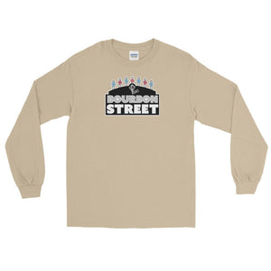 Bourbon Street Staff - Black Sign - Long Sleeve T-Shirt