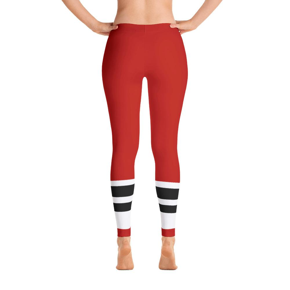 08bcdc40d991d2 Rayan's Liquors - RED Stripe - Leggings - Chicagowin Merch
