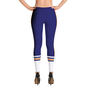 Bourbon Street Staff - Blue Stripe - Leggings