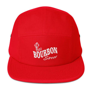 Bourbon Street Staff - Logo - Five Panel Cap