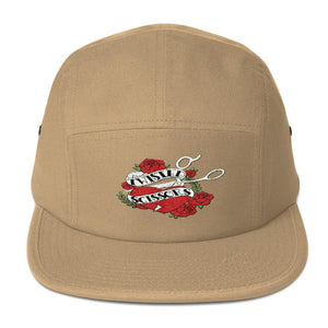 Twisted Scissors - Logo - Five Panel Cap