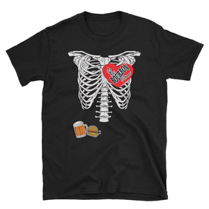 Bourbon Street Staff - Skeleton - Short-Sleeve Unisex T-Shirt