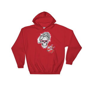 Twisted Scissors - Skeleton Girl - Hooded Sweatshirt