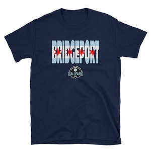 Ballpark Pub - Bridgeport Flag - Short-Sleeve Unisex T-Shirt