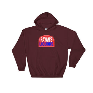 Rayan's Liquors - Red Sign - Hooded Sweatshirt
