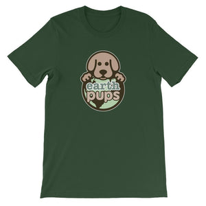 Earth Pups - Logo - COLORS -  Short-Sleeve Unisex T-Shirt
