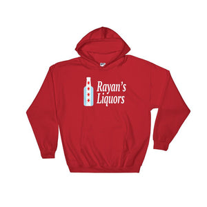 Rayan's Liquors - Chicago Flag Bottle - Hooded Sweatshirt