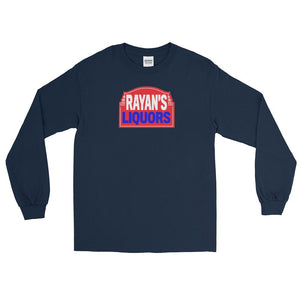 Rayan's Liquors - Red Sign - Long Sleeve T-Shirt