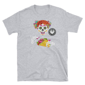 Tatas Tacos - Frida Skeleton - Short-Sleeve Unisex T-Shirt