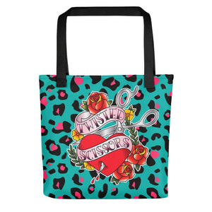 Twisted Scissors - Tote bag