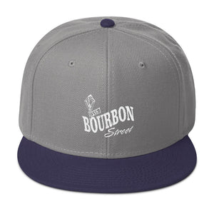 Bourbon Street Logo Embroidered Snapback Hat