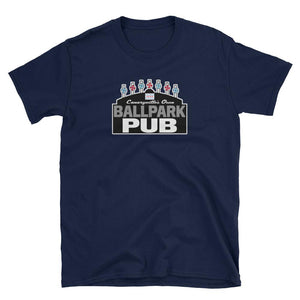 Ballpark Pub - Black Sign - Canaryville - Short-Sleeve Unisex T-Shirt
