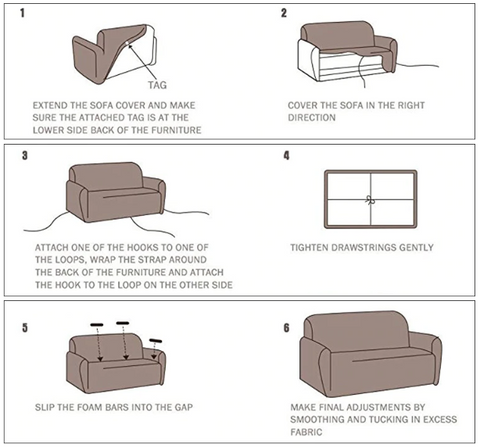 how to install cover juststag