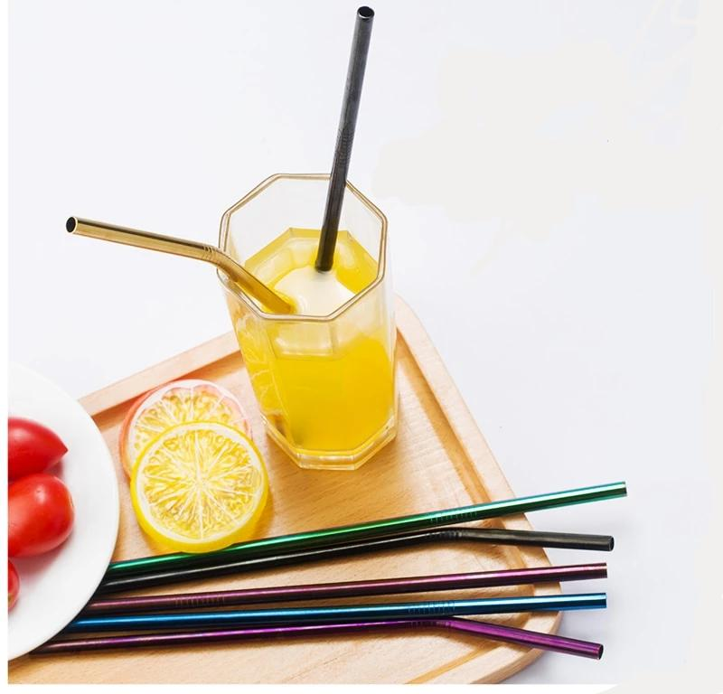Eco friendly Reusable Stainless Steel Straws