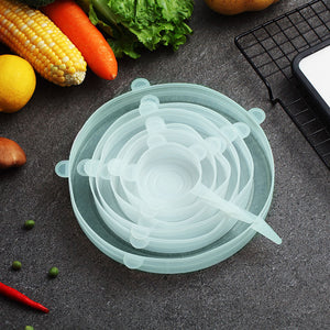 Worthbuy™- Universal Food Silicone Cover