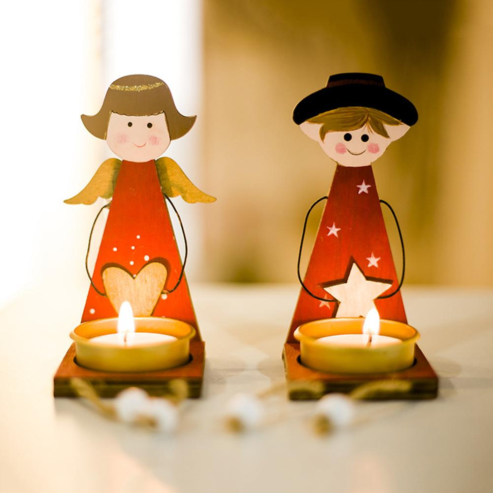 Doll Candle Holders